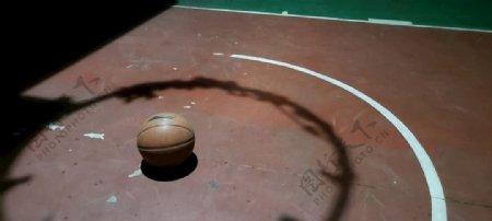 NBA篮球篮球场操场