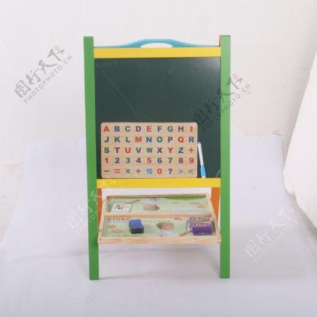 支架式儿童画画板磁性小黑板5