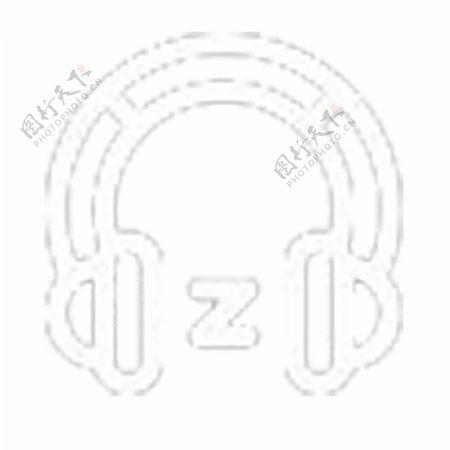 电子耳麦图标