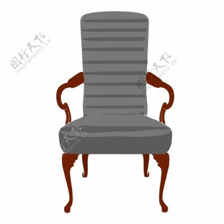 欧式家具椅子插画