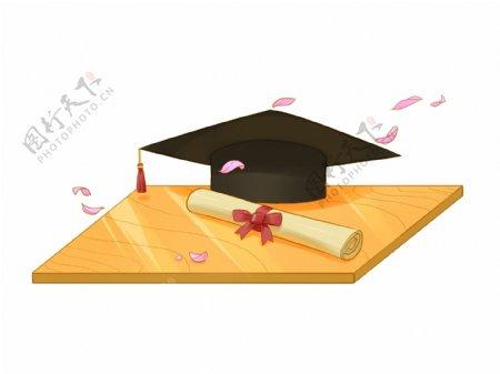 毕业季之学士帽