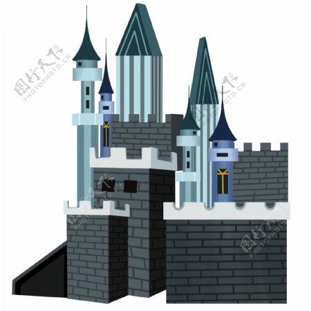 欧式风格城堡建筑