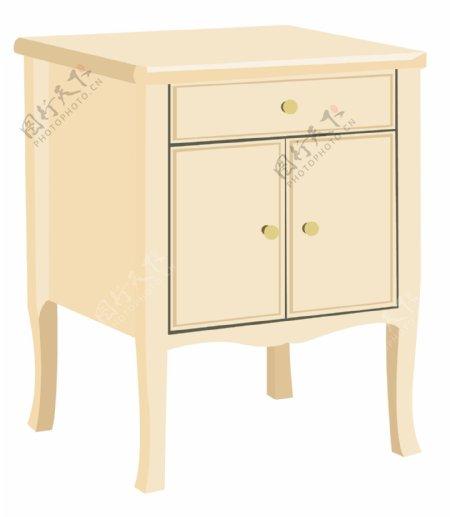 欧式家具床头柜
