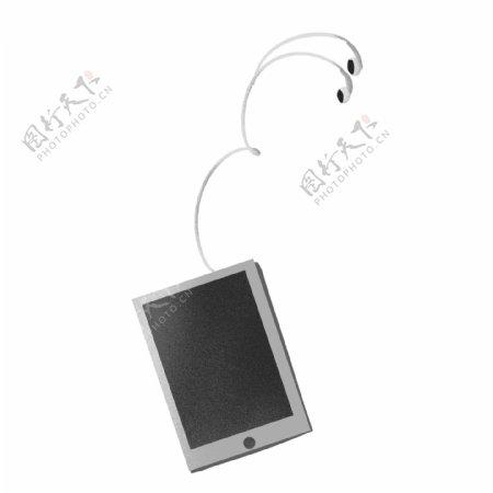 手绘一个ipad数码产品