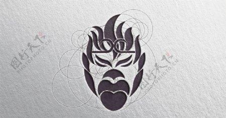 孙悟空大圣形象logo设计