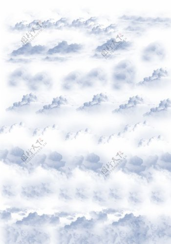 PS云朵笔刷10个逼真