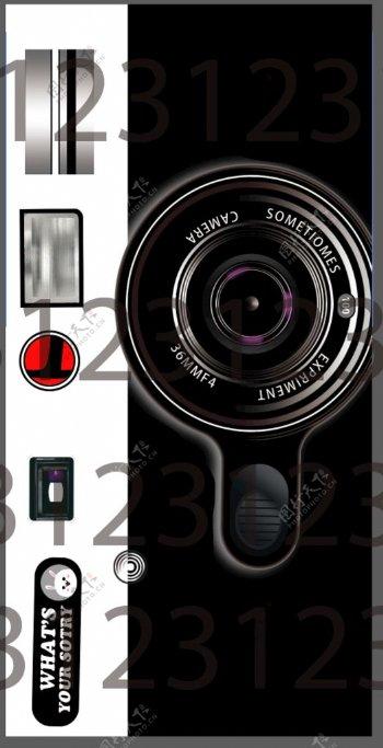 相机手机壳