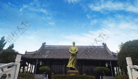 吴敬梓雕像塑像