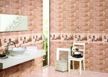 卫生间洗手间浴室欧式风格