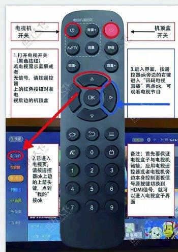 遥控器使用说明