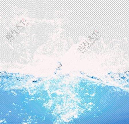海水浪花素材