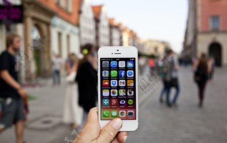 iPhone5s实景图