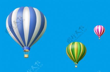 卡通气球热气球