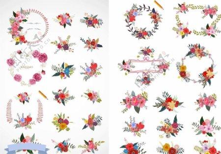 各种花朵素材