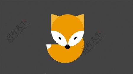 角色标志图标狐狸卡通