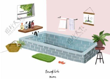 手绘家居设计图