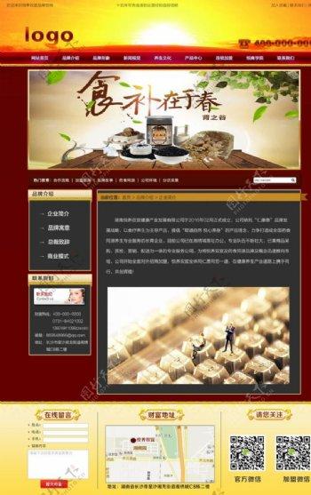 企业网站二级页面