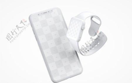 iphone手表展示效果图