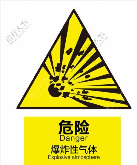 爆炸性气体