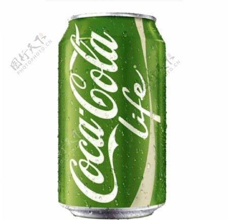 绿色可口可乐素材