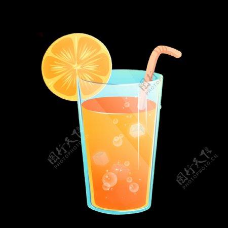 柠檬红茶饮料果汁饮品海报素材