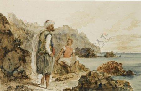 古典风格油画图案
