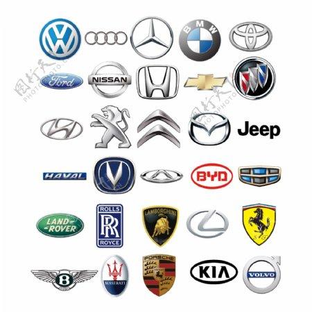 矢量汽车图标汽车标志汽车品牌