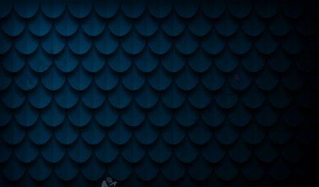 抽象鱼鳞纹背景科技