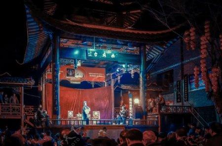 戏曲戏剧戏子传统文化背景素材