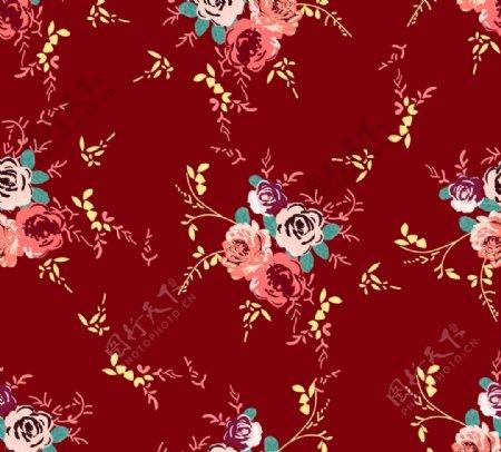 四方连续玫瑰有源文件