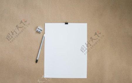 白纸样机素材