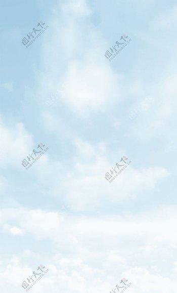蓝天白云GIF图片素材