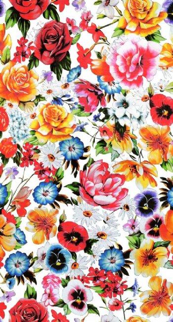 大牌花型花卉手绘花