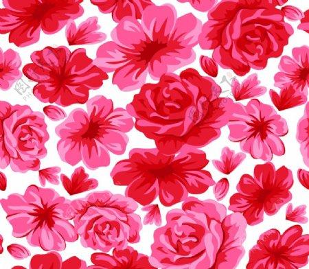 花卉手绘花