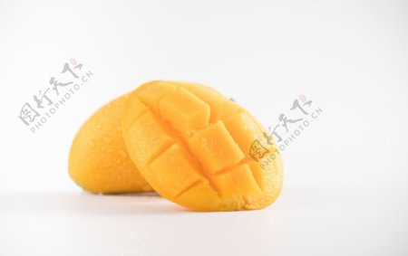 芒果白底素材