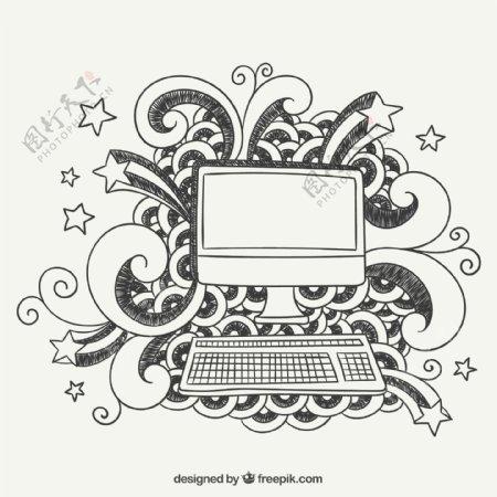 手工绘制计算机