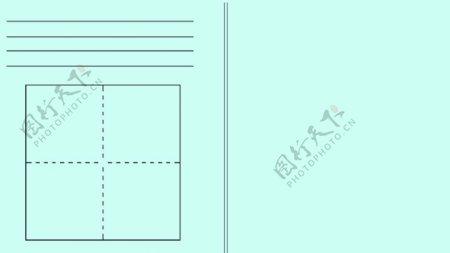 小白板四线方格amp手写验算板