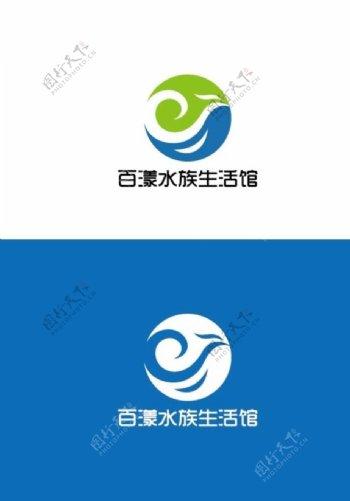 水族生活馆标识设计