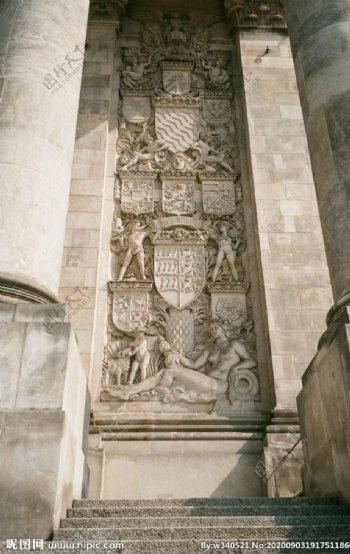 欧式建筑浮雕