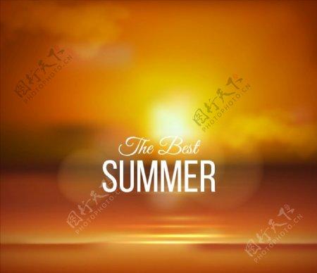 夏季最好背景