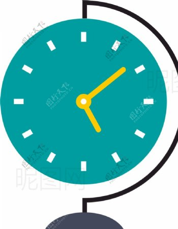 地球仪钟表