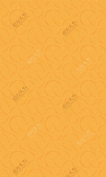 螺旋纹黄色背景