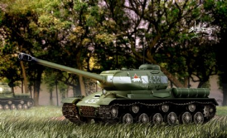 IS2重型坦克图片