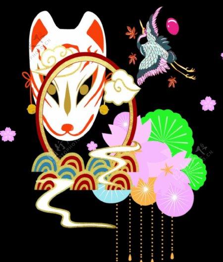 狐狸数码印花大牌印花图片