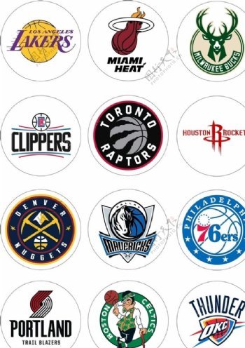 篮球队徽图片