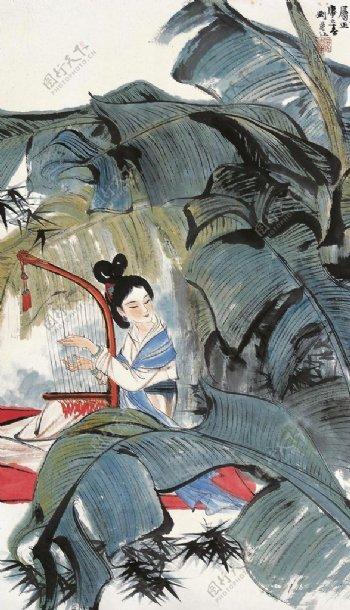 刘旦宅国画中国画传统画图片