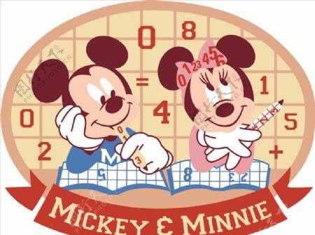 米奇和米老鼠图片