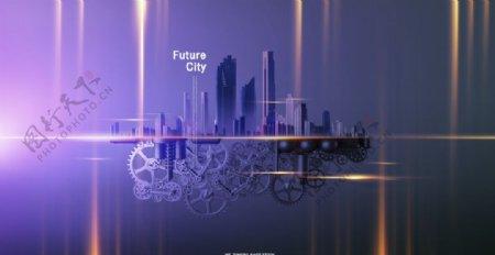 现代科技海报设计图片