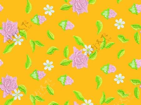 绣花背景图片