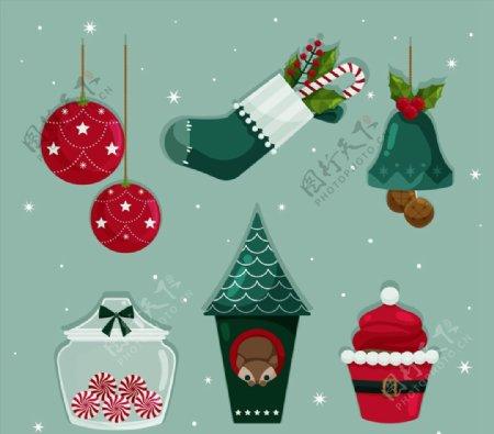 精致圣诞节物品图片
